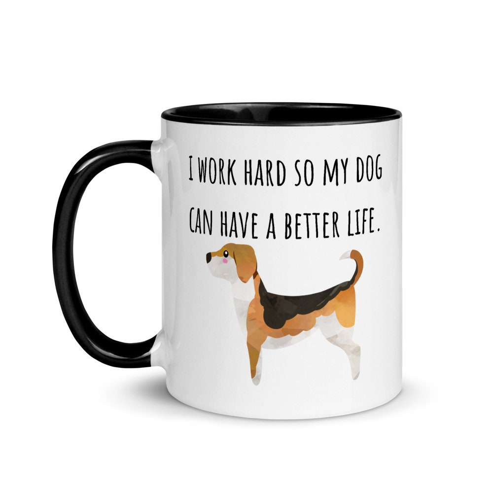 Beagle Mug Beagles Gifts Beagle Coffee Mug Beagle Mom Gift Beagle Dad Mug