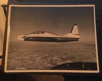 "Vintage Lockheed Press Photo Prototype 8.25""x 11.25"" AG8561"
