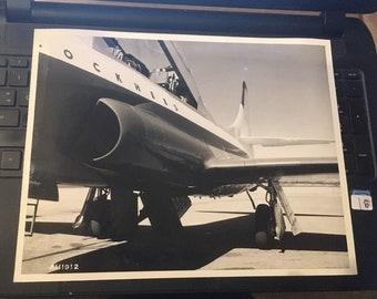 "Vintage Lockheed Press Photo Prototype 8.25""x 11.25"" AH1912"