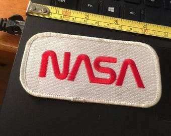 Vintage Patch: NASA, Embroidered