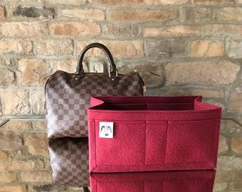 SPEEDY 30 LINER Bag Insert Felt Organiser in Rioja Red by Handbag Angels  Made in England 632fbc2d1123c