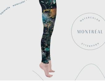 99d0da7d926e39 Galaxy leggings, Aerial Hoop clothing, Hula Hoop, Yoga, Pilates, Dark  leggings. Wearable Art, Celestial, Clothing, Constellation,