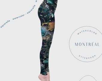 856d9687848d6 Galaxy Art. Festival Clothing. High Waisted Leggings. Workout Leggings.  Ethical Clothing. Hoop Dance Art Clothing.