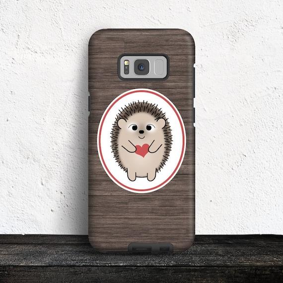 Autumn hedgehog Samsung S10 Case