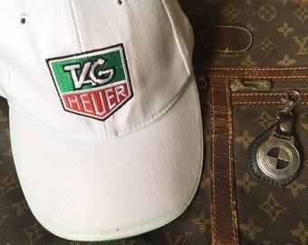 f056c65e984 TAG HEUER Embroidered Logo Strapback Cap