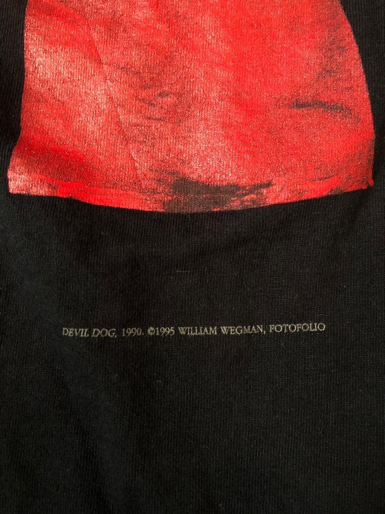 90s William Wegman Art T-shirt