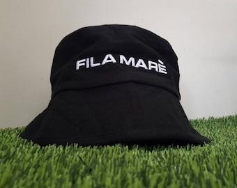 9bbdf217f10 Vintage fila mare  bucket hat tommy hilfiger champion polo ralph lauren