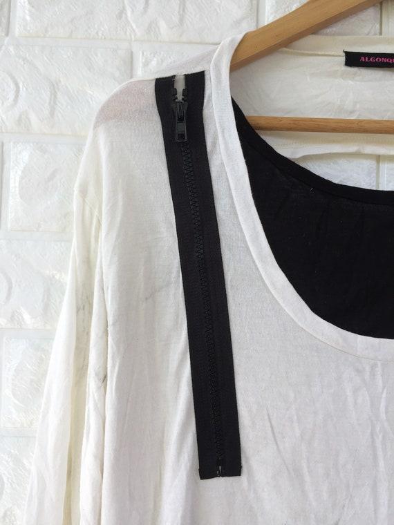 Vintage Algonquins brand punk style shirt for wom… - image 3