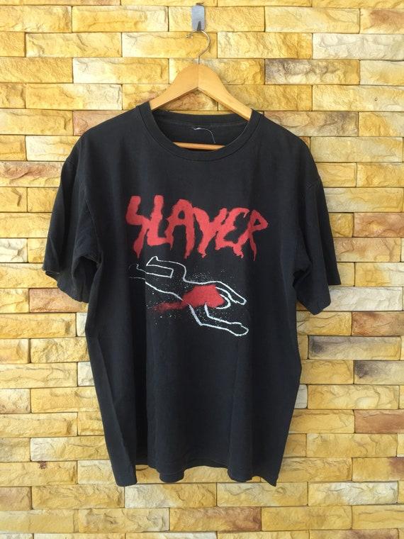 Vintage 90s slayer band shirt medium large size do