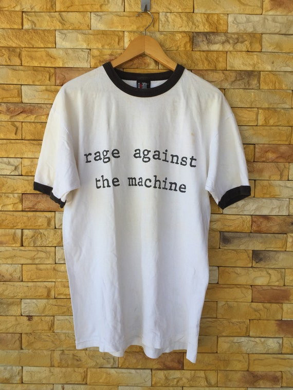 Rare!! Vintage 90s rage against the machine band r
