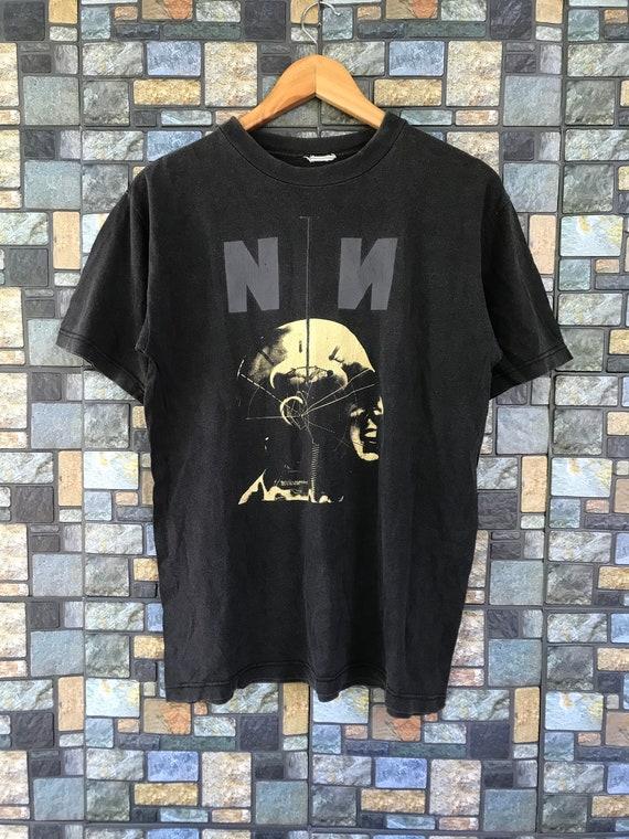 VTG Nine Inch Nail NIN Tshirt Sz M American Heavy