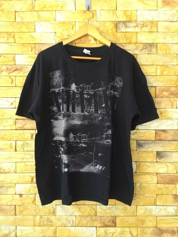 Nirvana band shirt xlarge size nirvana in concert