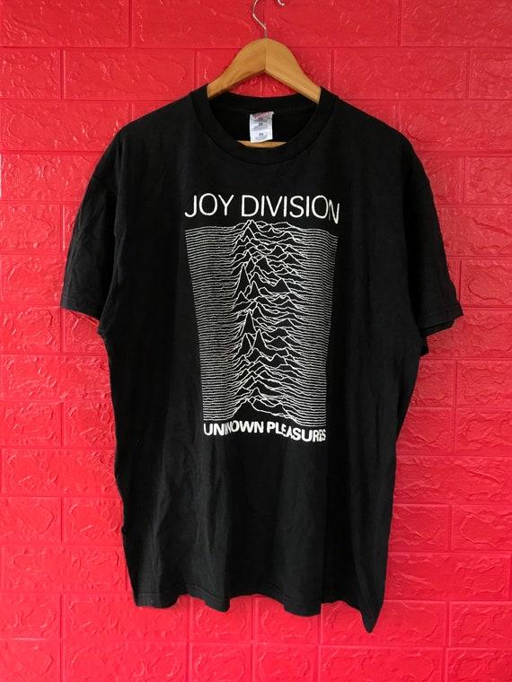 VTG Joy Division Band Tshirt Unknown Pleasures Alb