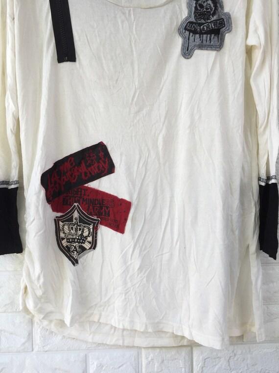 Vintage Algonquins brand punk style shirt for wom… - image 4