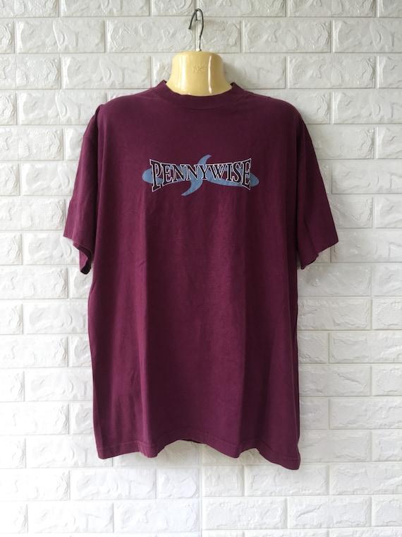Vintage Pennywise Band Shirt Sz XL Skate Punk Melo