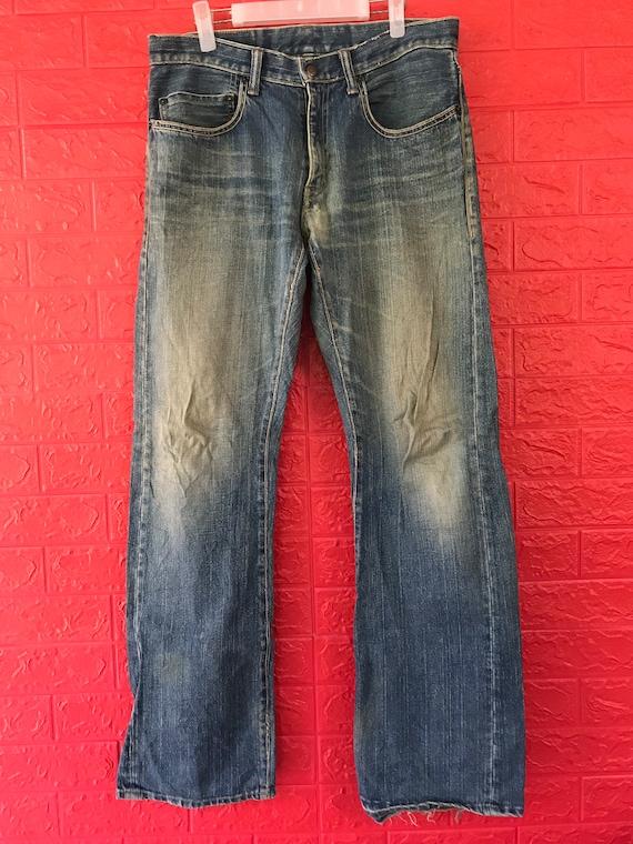 "VTG Blue Blue Japan Jeans Waist 34"""