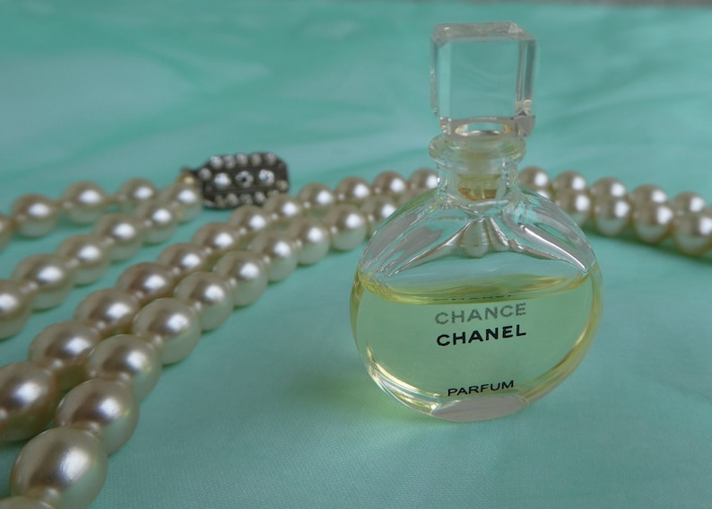 Vintage Miniature Perfume Chanel Chance French Fragrance Etsy