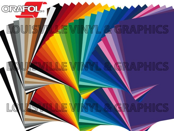 "40 Sheets 12/"" X 12/"" ORACAL 651 Craft /& Hobby Cutting Vinyl"