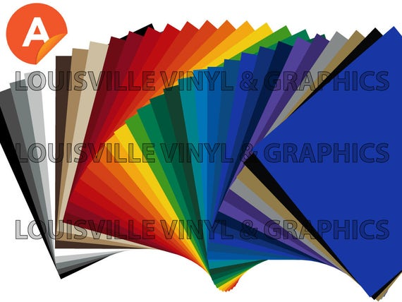 "10 Sheets *63 Color Choices 12/"" X 12/"" ORACAL 651 Craft /& Hobby Cutting Vinyl"