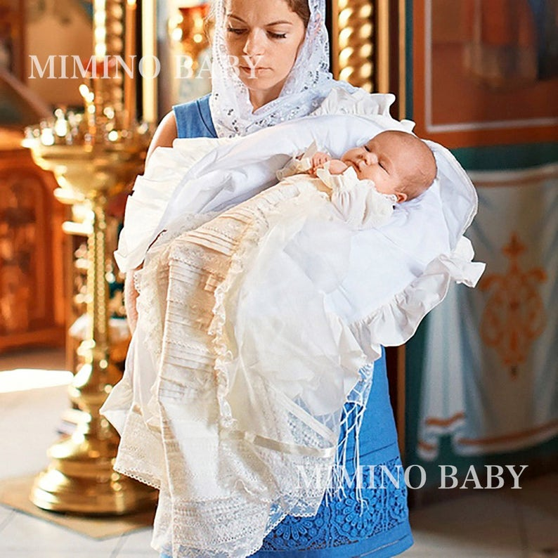 d4359876df42f Christening Gown Boy, Boy Baptism Outfit