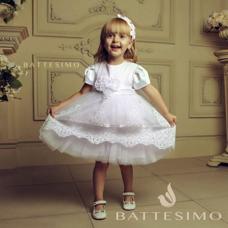 Baptism Dress Communion Dress Special Occasion Dress Flower Girl Dress Christening Dress