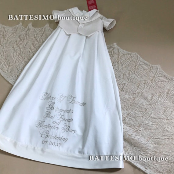 Junge Taufkleid Junge Taufe Kleid