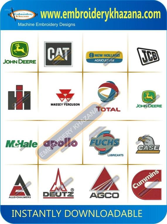 Coche empresa logos bordados diseños instantáneos descargar | Etsy