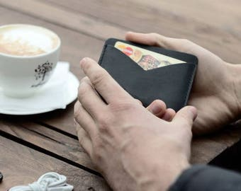 Leather Card Holder / Slim Wallet / Leather Card Case / Leather Card Wallet / Leather Wallet / Card Wallet / Women wallet . Purse. Leather