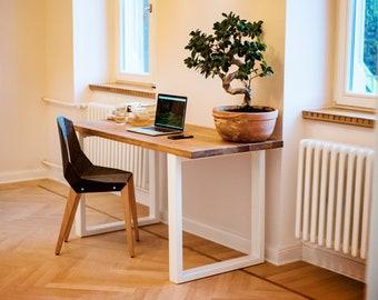 Bureau bois et acier moderne meuble de bureau meubles