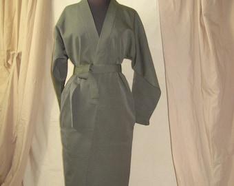 Kimono Coat, NEW, Long Kimono Jacket, Short Coat, NEW, Model 100, Kimono Fabric, Unlined, NOKIMO Design, Hakama Silk, Oversized