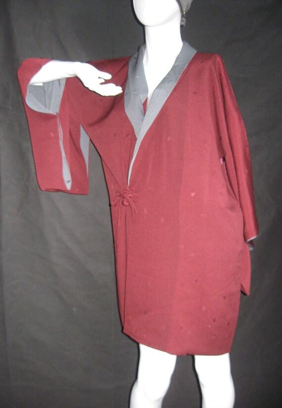 Douchugi, Kimono Jacket, Japan, Silk Jacket, Kimon