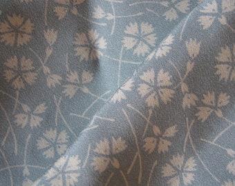 Kimonoseide, 200 x 38 cm, Kinsha, unprocessed by roll, dream silk, supersoft, nadeshiko, cloves, pale-bleu, pale-lavender, pale-rose