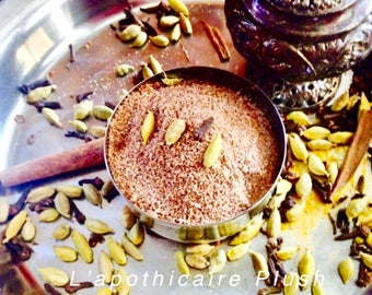 Cardamom & Chocolate Face Mask, Ubtan, Cleansing Mask, Anti Aging Mask, Facial Mask, Cleansing Grains, Natural Face Mask, Chocolate mask
