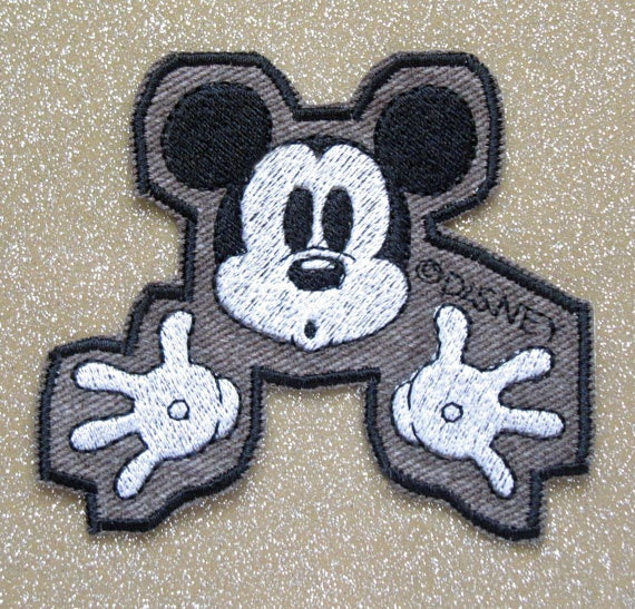 Novelty  Micky Minnie Mouse Iron//Sew On Appliqué Patches choose pattern