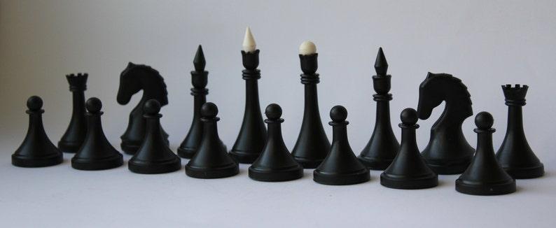 Chess USSR old chess Soviet chess Vintage chess plastic chess Soviet chess set Soviet plastic chess dnepropetrovsk