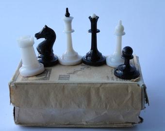 NOS! Soviet plastic chess. Soviet chess. Soviet chess set. Vintage chess. Chess USSR. New chess. plastic chess.