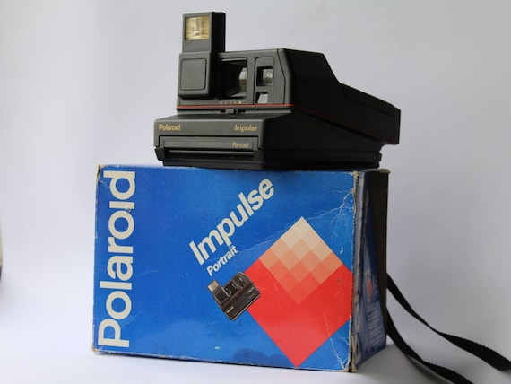 Vintage Polaroid Impulse Portrait 600 Camera Instant photo   Etsy 0d32b15e7131