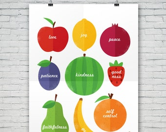 INSTANT download! Fruit of the Spirit digital file