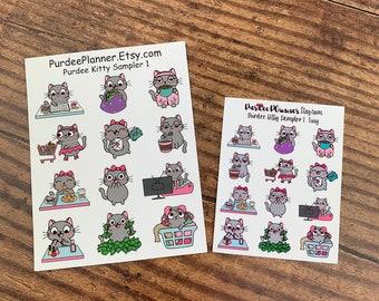 Purdee Kitty Sampler 01. Choose your Sheet.