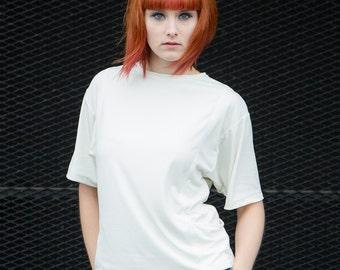 Shirt ' Alma ' modal T-shirt offwhite white bags