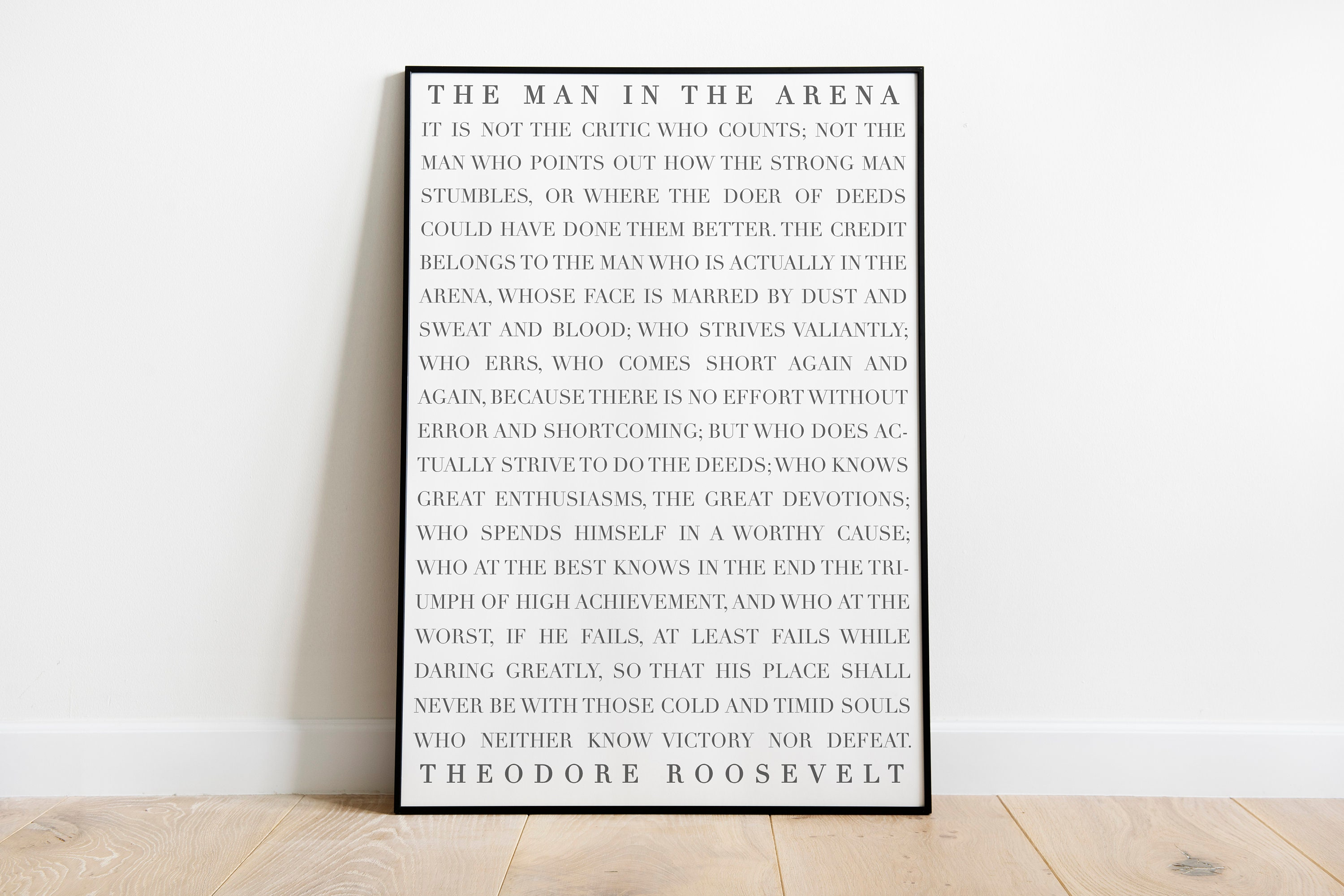 photograph relating to The Man in the Arena Printable identify The Guy in just the Arena printable, Motivational, Inspirational