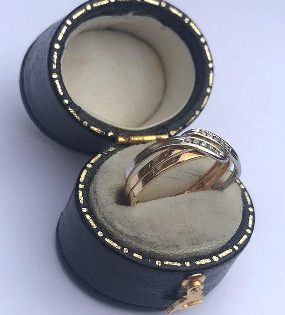 Vintage Diamond Set Band Ring - image 2