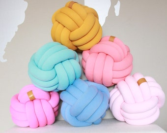 LARGE Knot Pillow, Knot Cushion, Pillow, Decorative Cushion, Nursery Decor, Home Decor, Kids room decor