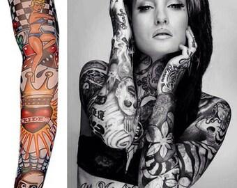 d06b04a9f Temporary Tattoo Sleeve Nylon