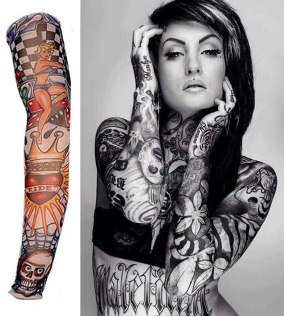 f23aba308 Temporary Tattoo Sleeve Nylon | Etsy
