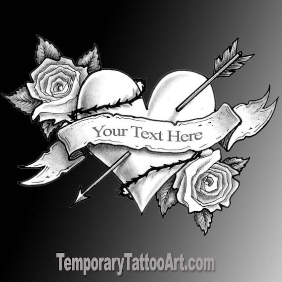 Stwórz Tymczasowy Tatuaż Dodaj Tekst Do Fałszywych Tatuaży