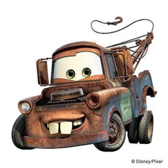Mater Samochody Disney Tymczasowy Tatuaż