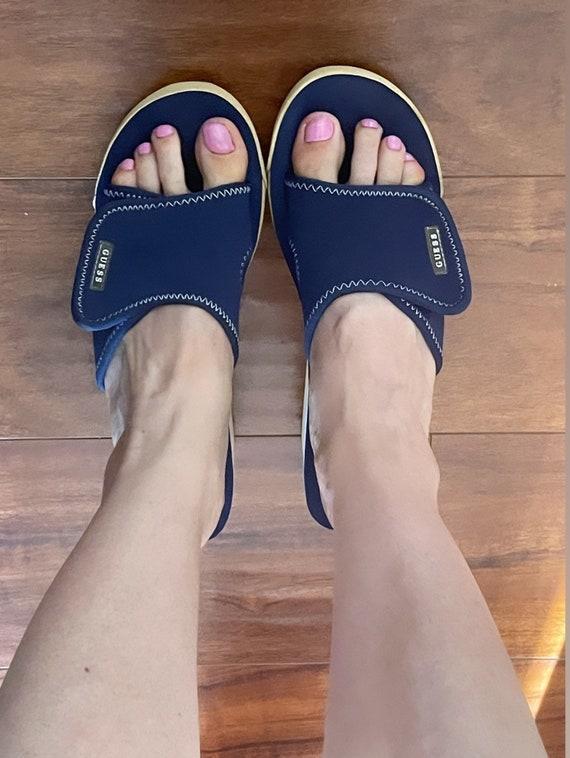 Guess vintage platform mules rare sandals 90s 200… - image 2