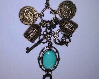 Capricorn Zodiac Charm Necklace