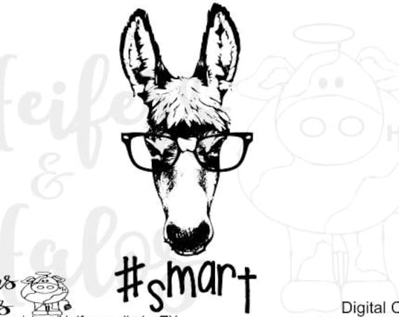 Smart ass hashtag digital file, cut, print, sublimation file for cricut and silhouette, svg, pdf, png, eps, dxf, studio3, t-shirt design